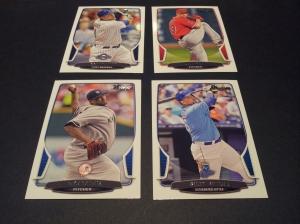 Base cards- Corey Hard #115, C.J. Wilson #71, CC Sabathia #5, Billy Butler #90.