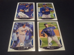 Base Cards- Colby Rasmus- #156, Jose Reyes #24, Adrian Gonzalez #176, Matt Moore #187