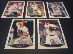 Base Set Cards- Ryan Zimmerman #60, Roy Halladay #102, Brett Lawrie #205, Yu Darvish #122, & Ian Kinsler #168