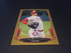 Gold Card- Cole Hamels #135