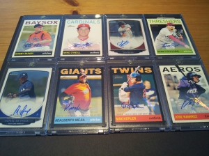 Here are my recent prospect autograph hits you asked me to post, Big Wil Collector (@Cardcollector 9)