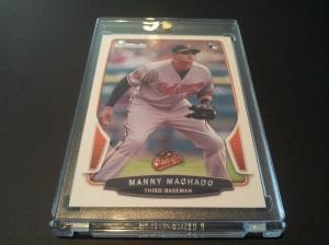 As soon as I get a Machado RC I slab it. I hoard Machado and D. Bundy cards.