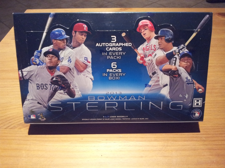2013 Bowman Sterling Baseball
