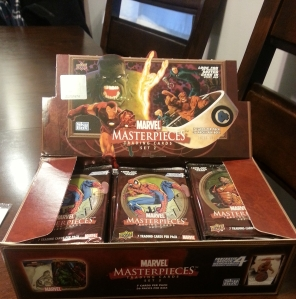 John's First Wax Cracking: 2008 Upper Deck Marvel Masterpieces Series 2 Trading Cards