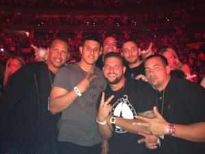 Machado with A-Fraud and brother-in-law Yonder Alonso recently at a Jay Z concert. As an Orioles fan this is worrisome.