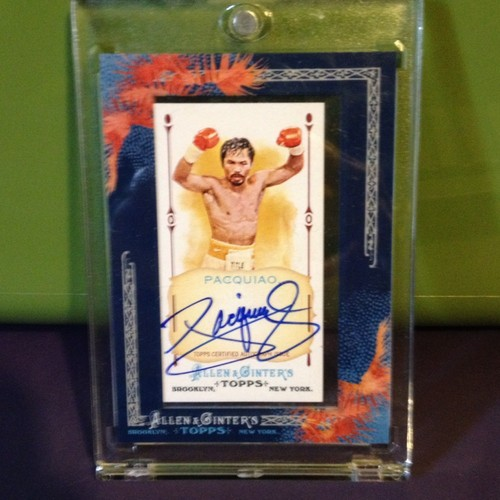 2011 A&G Manny Pacquiao Signature
