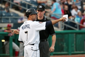 State College Spikes Manager Oliver Marmol