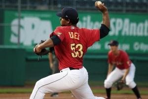 Fernando Baez State College Spikes NYPL Playoffs