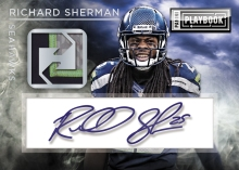 Panini America 2014 Playbook Football Sherman