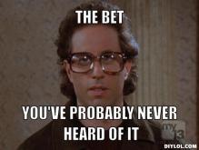 Seinfeld Bet